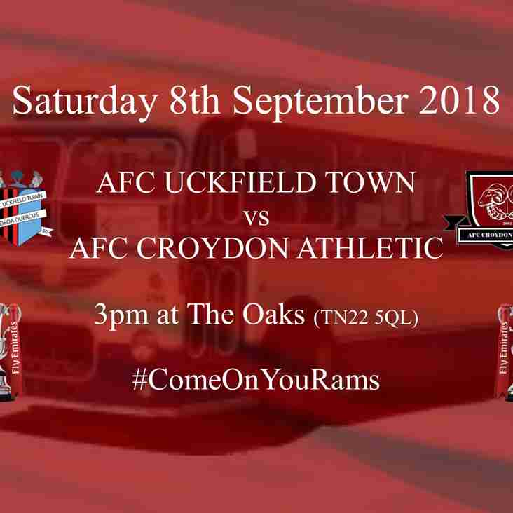 AFC Uckfield Town Next Up in Cup Campaign