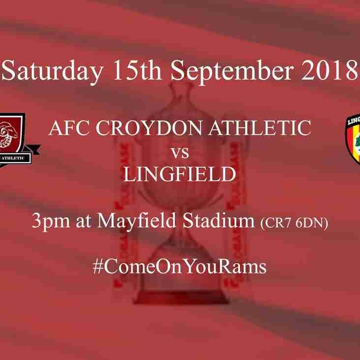 FA Vase sees Lingfield Visit Mayfield Stadium