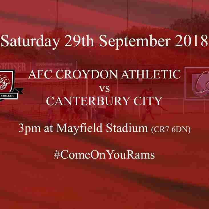 Canterbury City Visit Mayfield Stadium