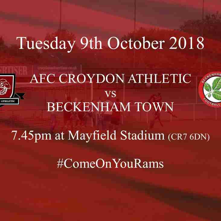 Top of the Table Beckenham Visit Mayfield