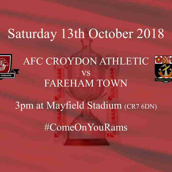 Fareham Town are the Next Vase Opponents
