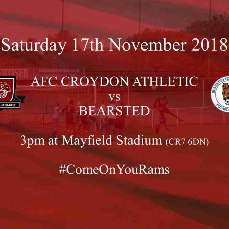 Bearsted Next Up for Rams