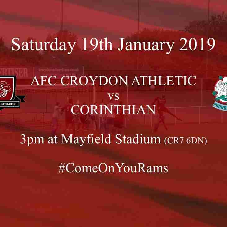 Preview - Rams Welcome In-Form Corinthian
