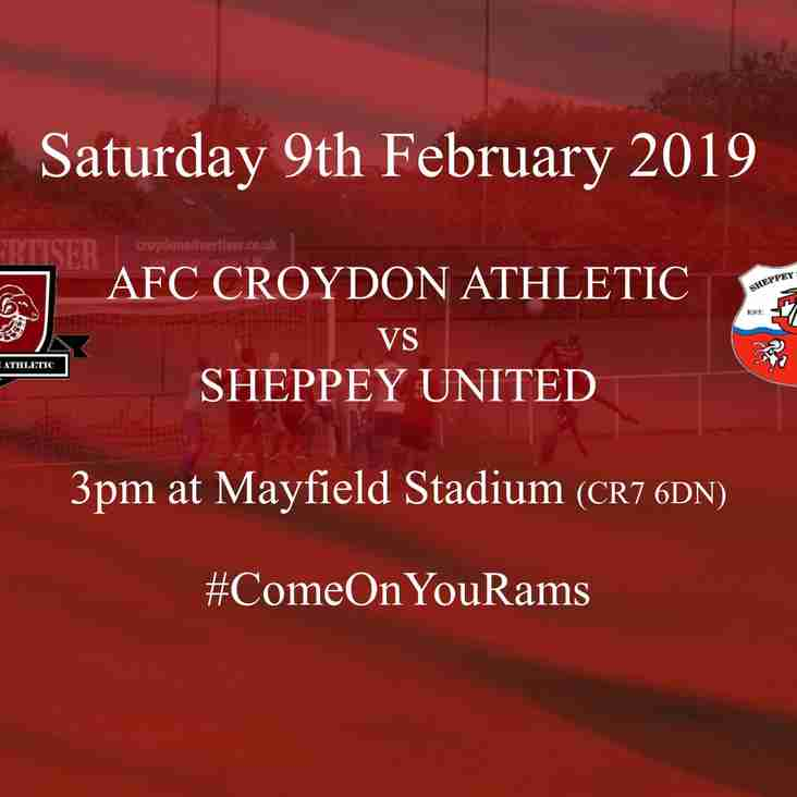 Preview - Sheppey Next Up for the Rams