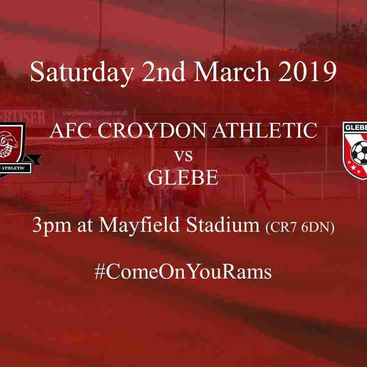 Preview - Glebe Make Short Journey to Mayfield Stadium