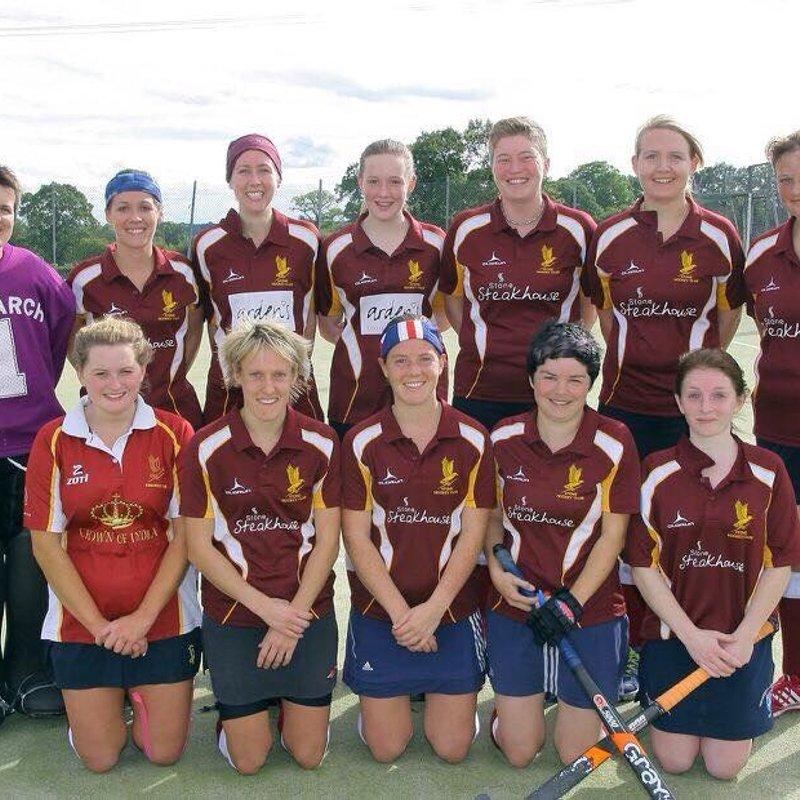 Stone Ladies 1s lose to Telford & Wrekin 3 - 2