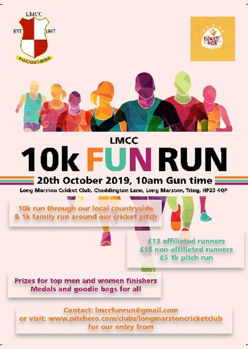 LMCC FUN RUN - News - Long Marston Cricket Club