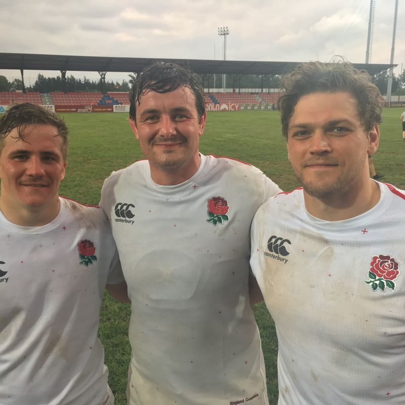 I's with England Counties - second test.