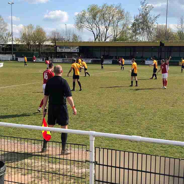 Handsworth Parramore 2 Thackley 2 - Match Report.