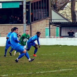 Soham Town Rangers 1, Romford 4