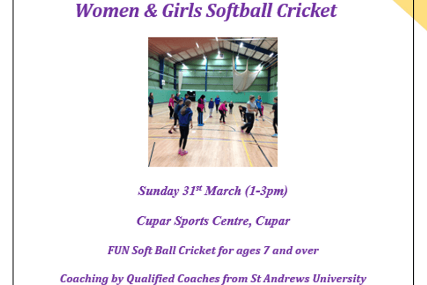 Women & Girls 'Come and Try' Softball cricket