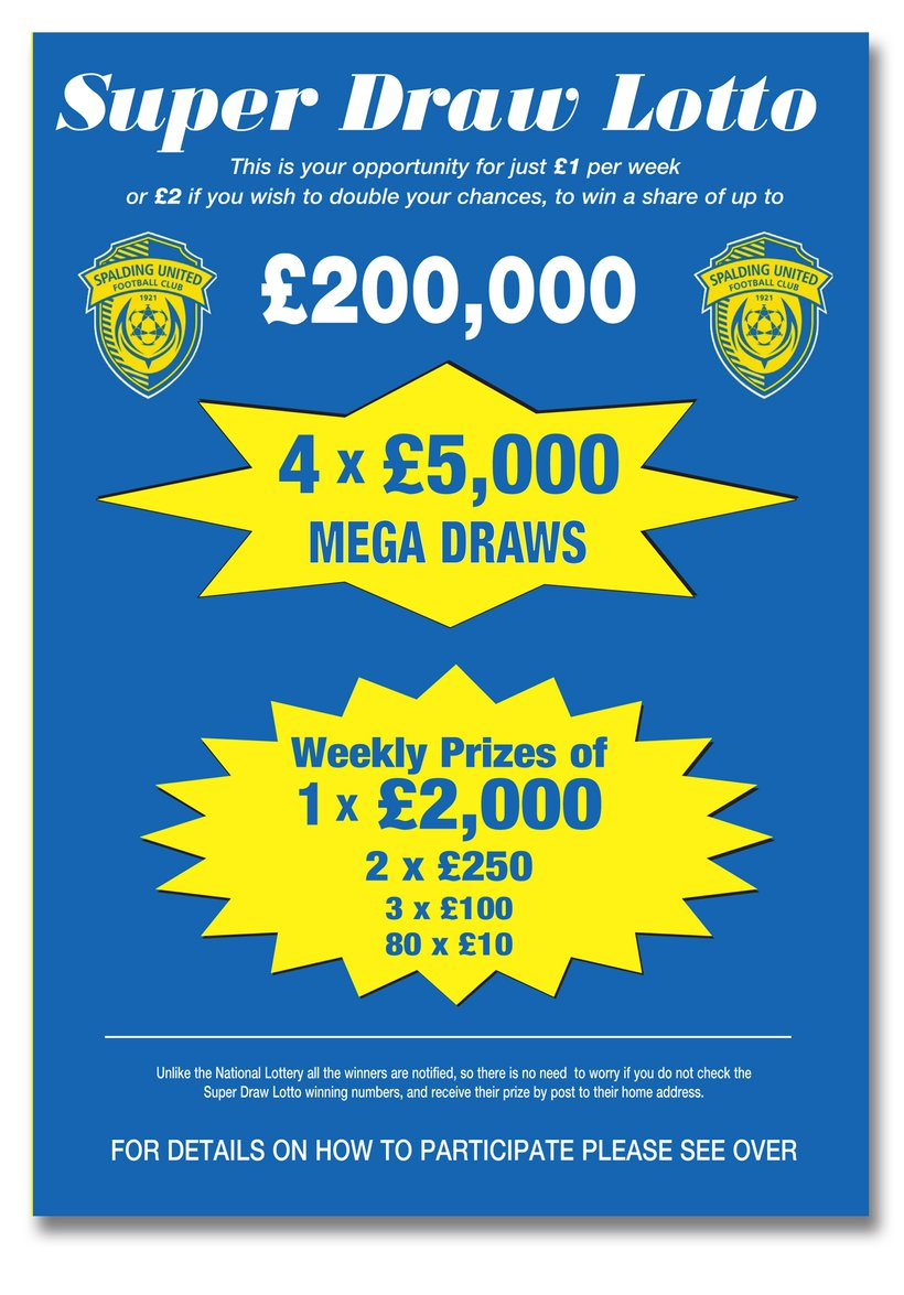Up To £2,000 Can Be Won Weekly In The SUFC Super Draw Lotto - News