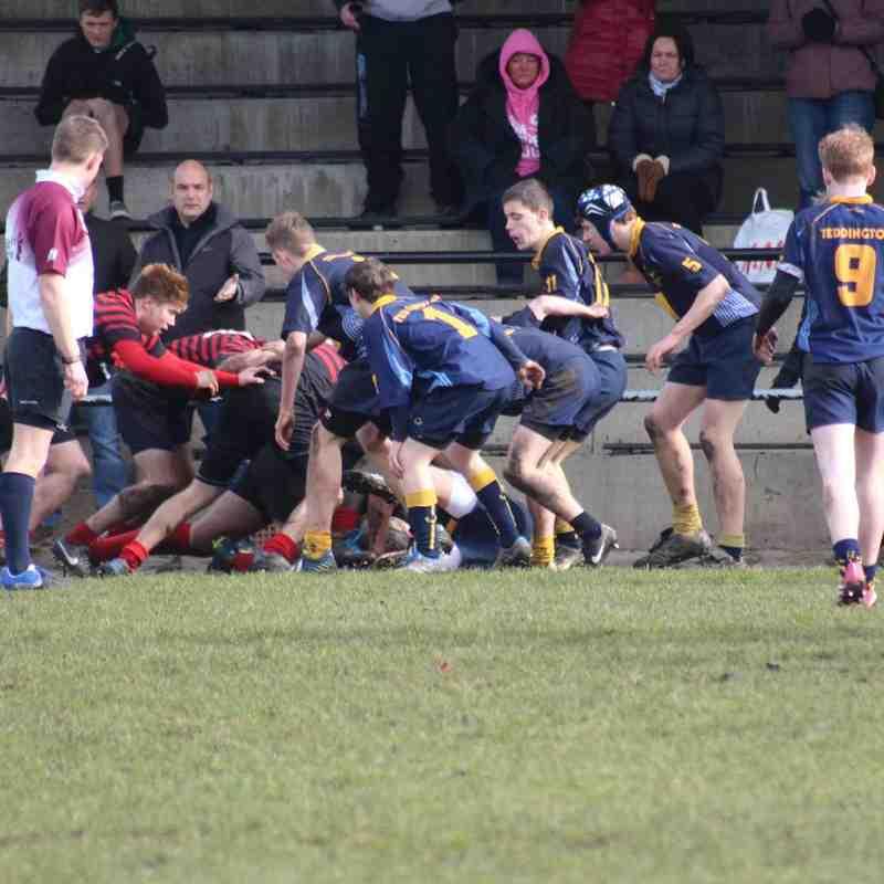 Teddington u15 VS Saracens 2015