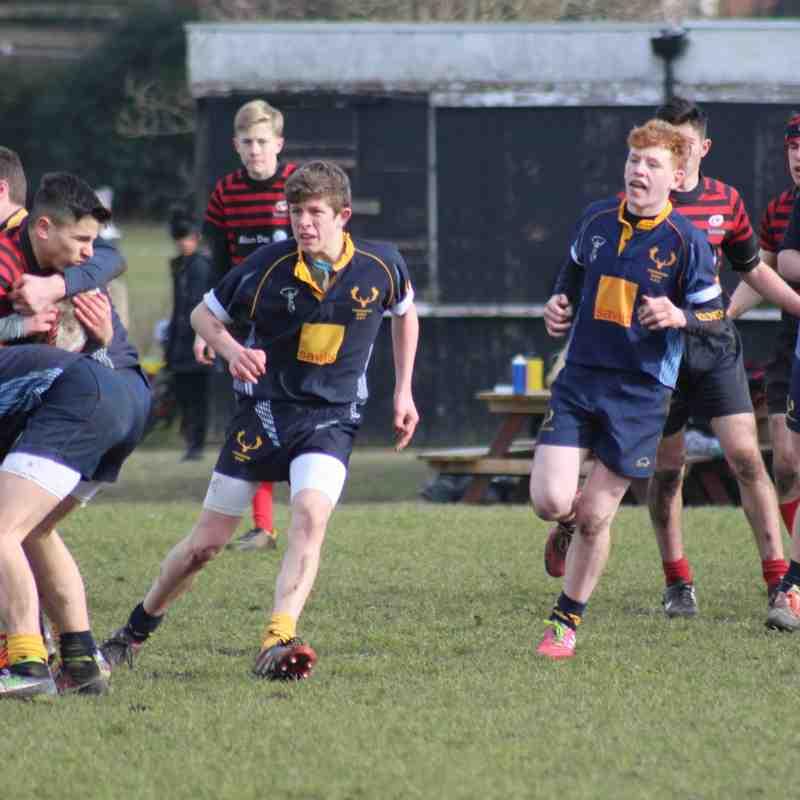 Teddington U15 VS Sarcens 2015