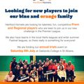 Looking for new players to join our blue and orange family