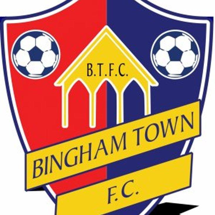 Bingham Town FC Announce New Chairman <