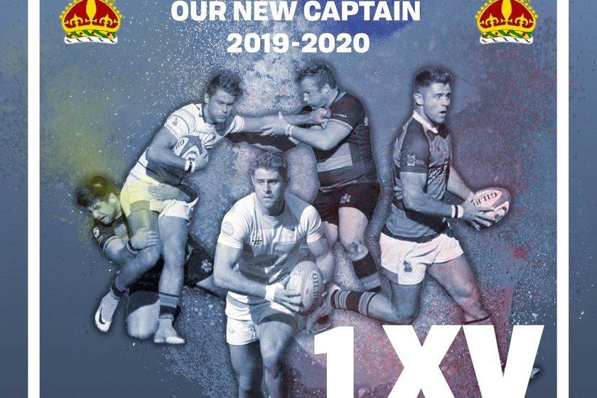 New 1XV Captain For 2019-20