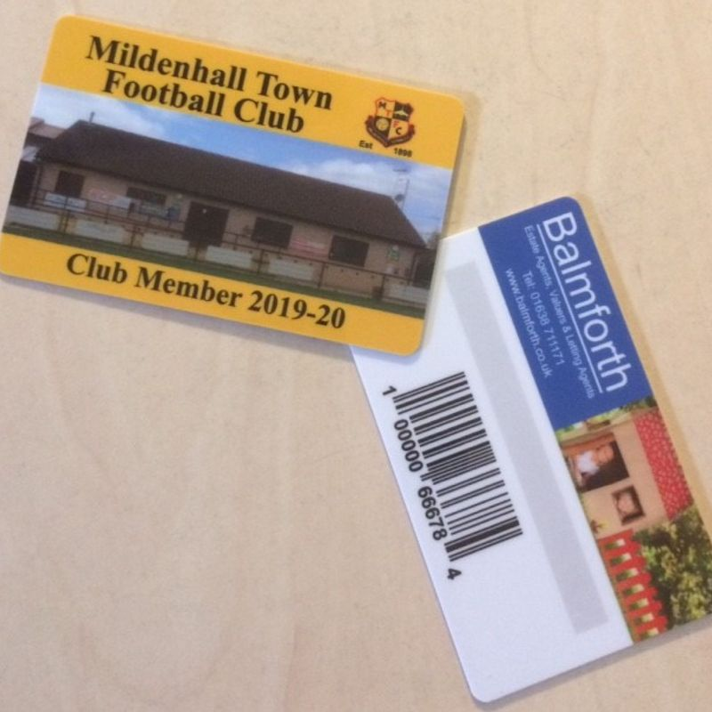 Membership Cards Available
