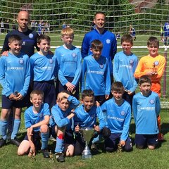 Under 11's cup winners 2018