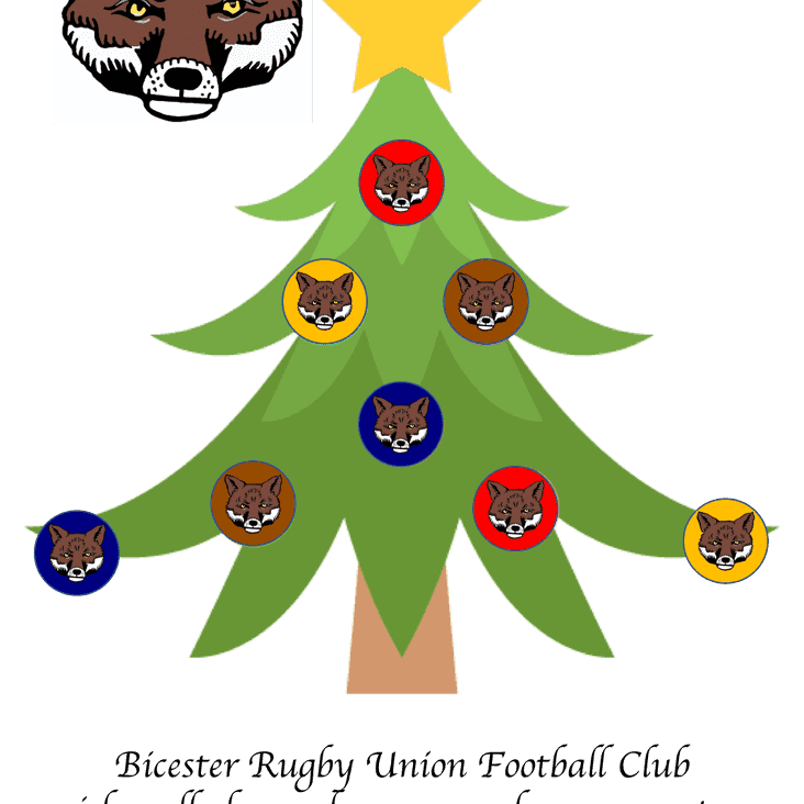 Merry Christmas & a Happy New Year to the Bicester Rugby Community