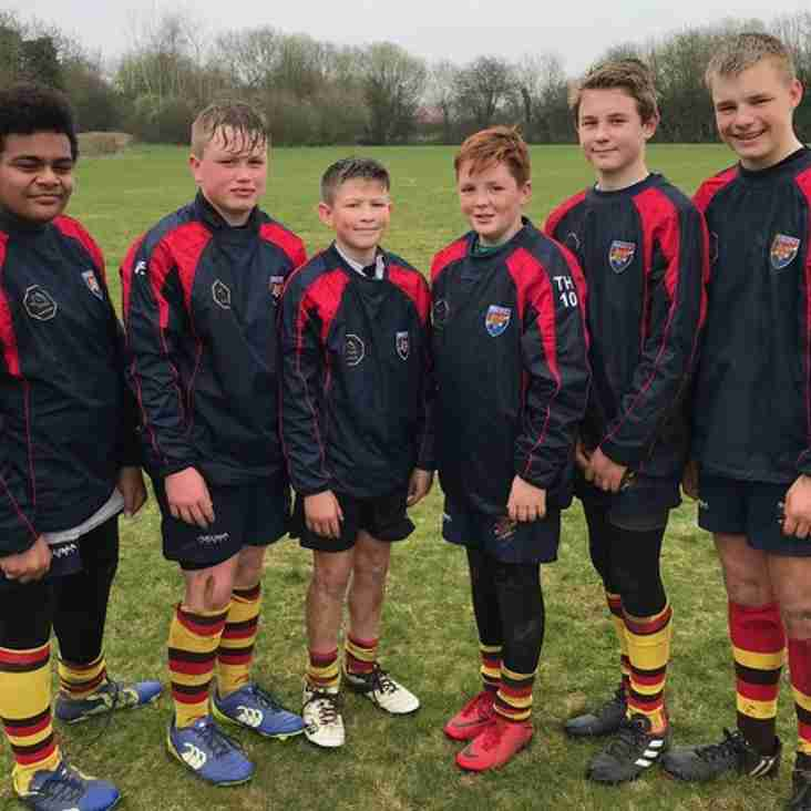 SIX Bicester under 13s make it through to Wasps Developing Player Program