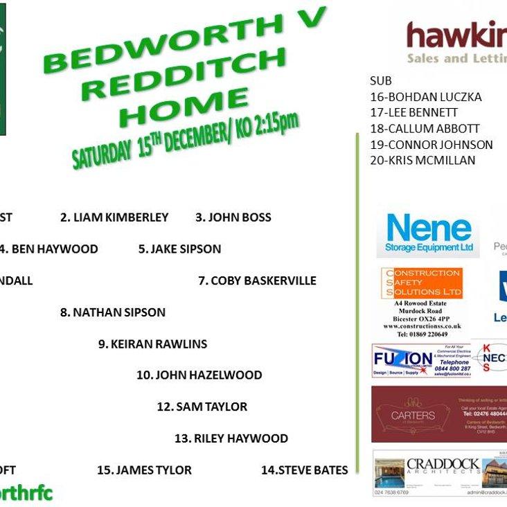 Bedworth RFC team is up<