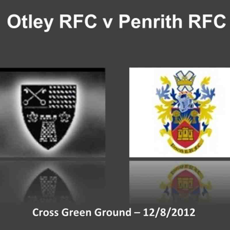 Otley v Penrith (Pre-Season Friendly) - 12/8/2012