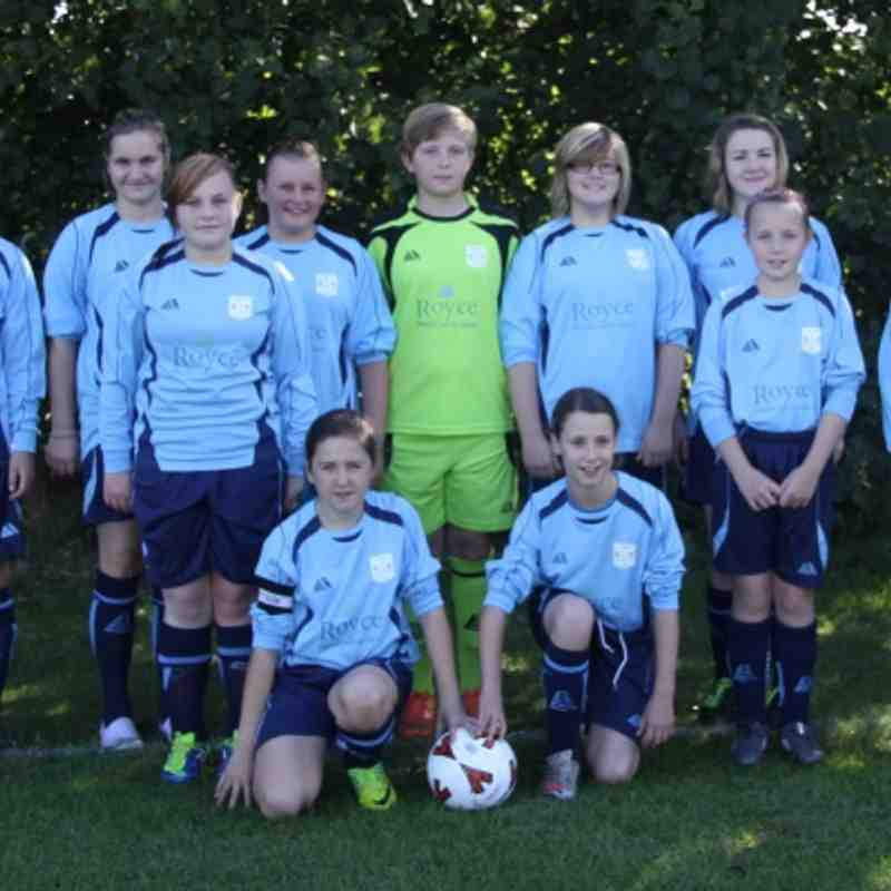 Bloxham U13 Girls Team Picture
