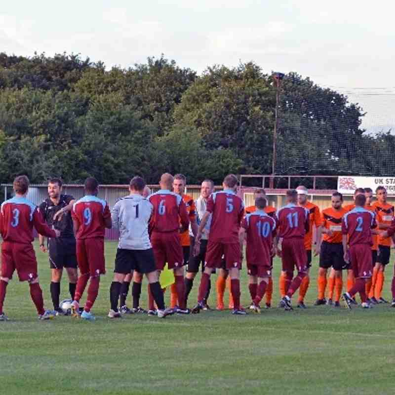 Bowers & Pitsea 2  Rovers 5 - 13/8/13