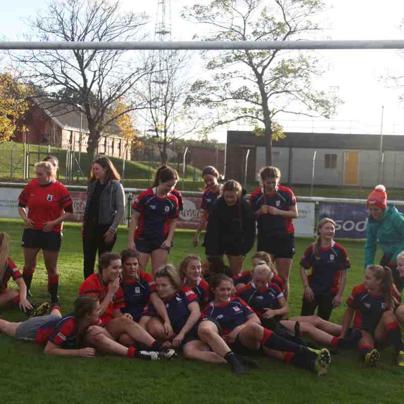 Hampshire 51 – Berkshire 17 Girls U18 Rugby 2017/10/29