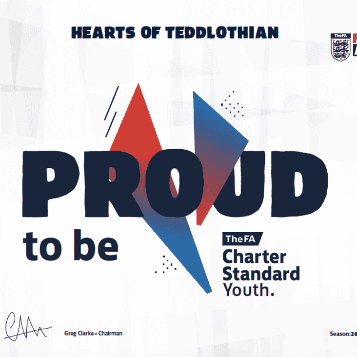 Congratulations - your club is among the country's best.