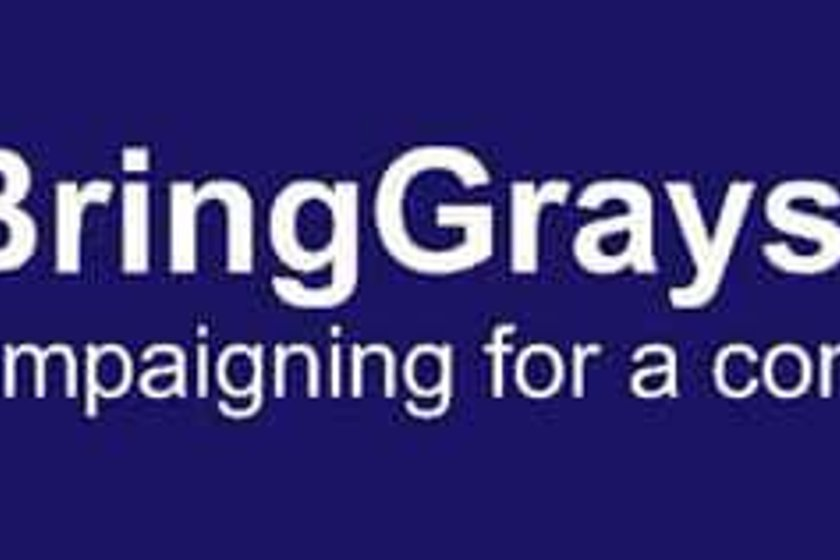 Supporters Raise Funds for #BringGraysAthHome Campaign
