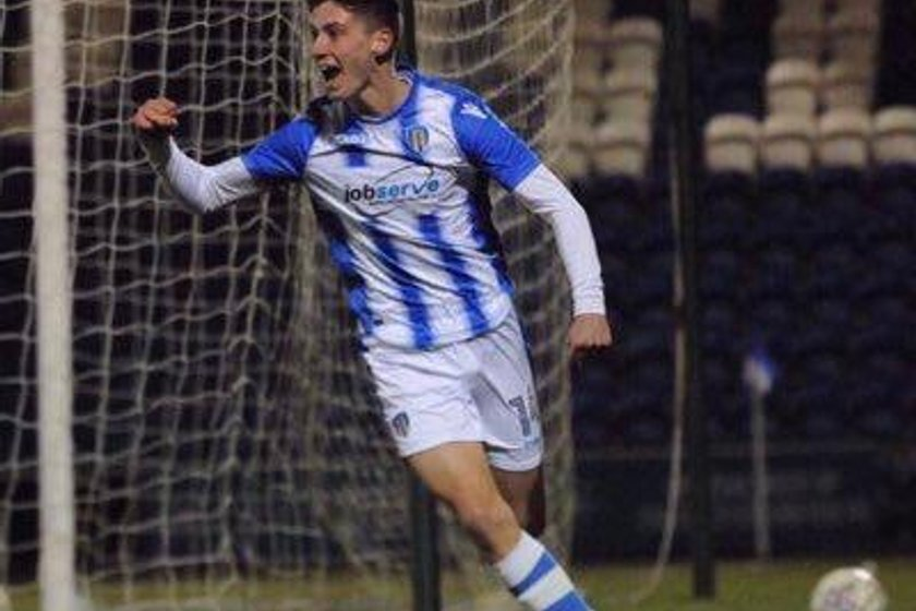 Colchester youngster in on loan