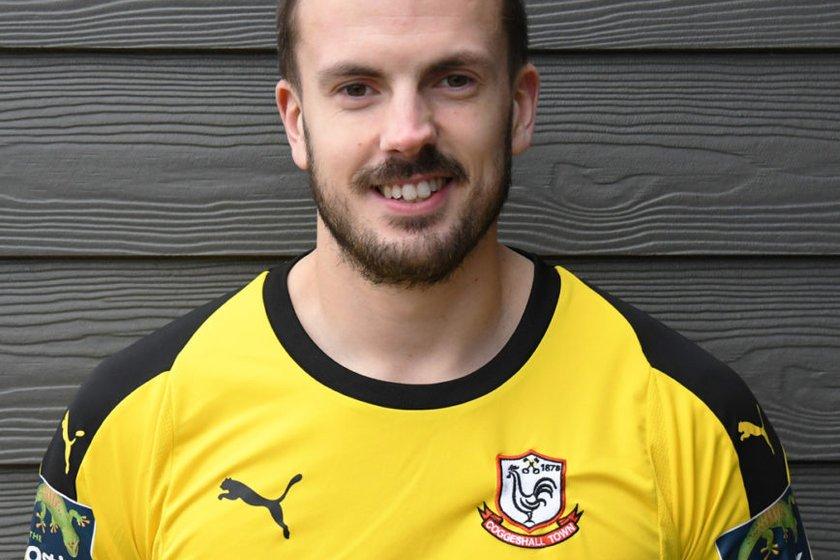Goalkeeper Danny Sambridge joins the Blues