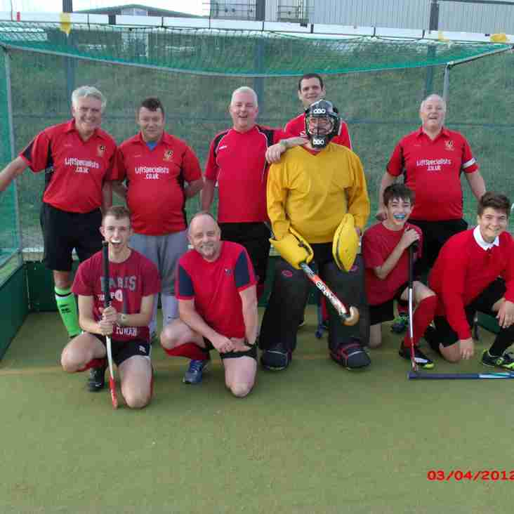 The 4's only lost by the odd 13 goals against East Grinstead