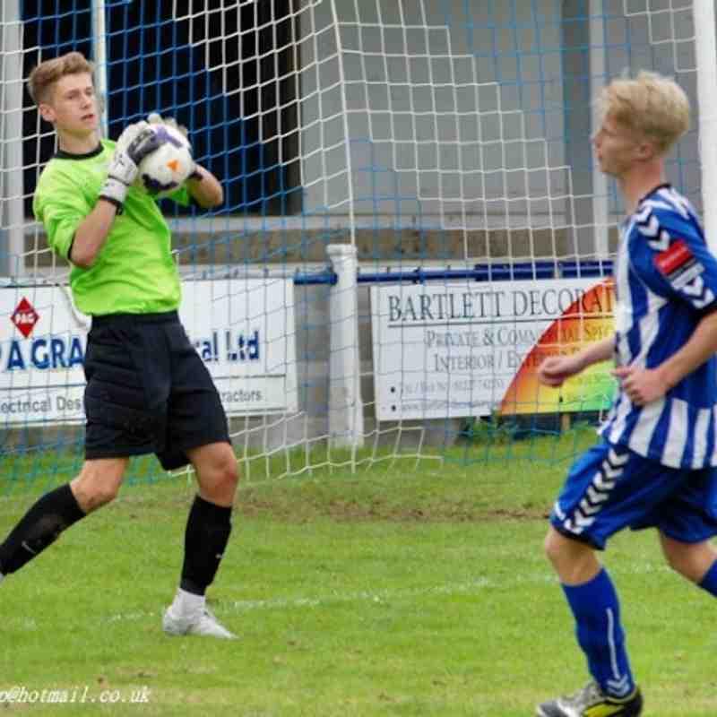 u 18's vs Maidstone - Club photos - Herne Bay Football Club