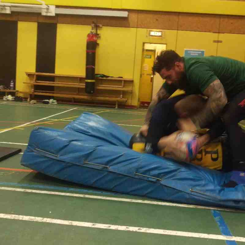 Training - Working on breakdown area, an introduction into a scavenger as well as working hard to defend it.