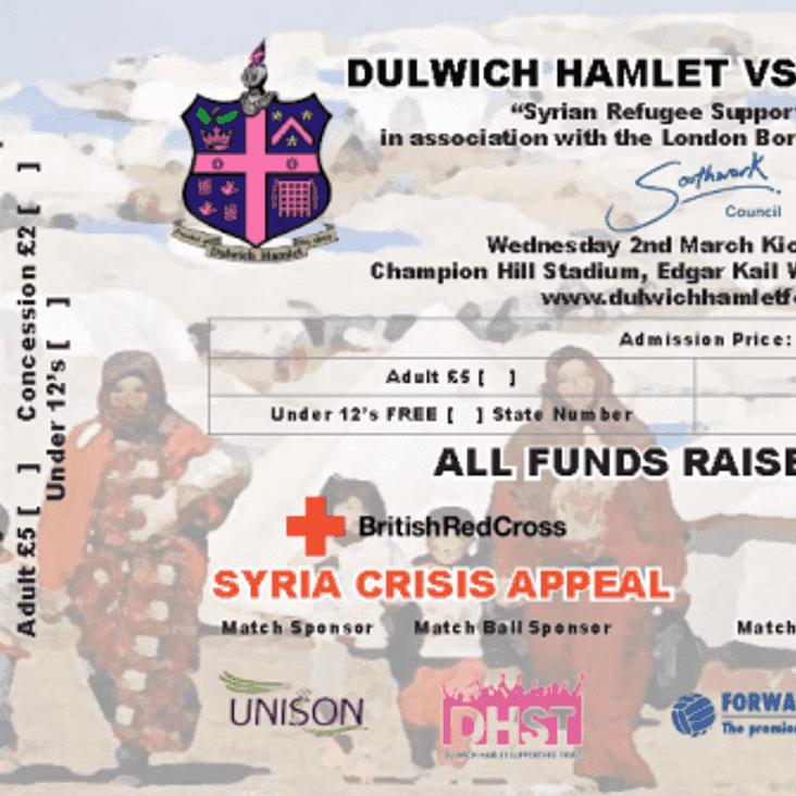 Hamlet hosting charity fundraiser