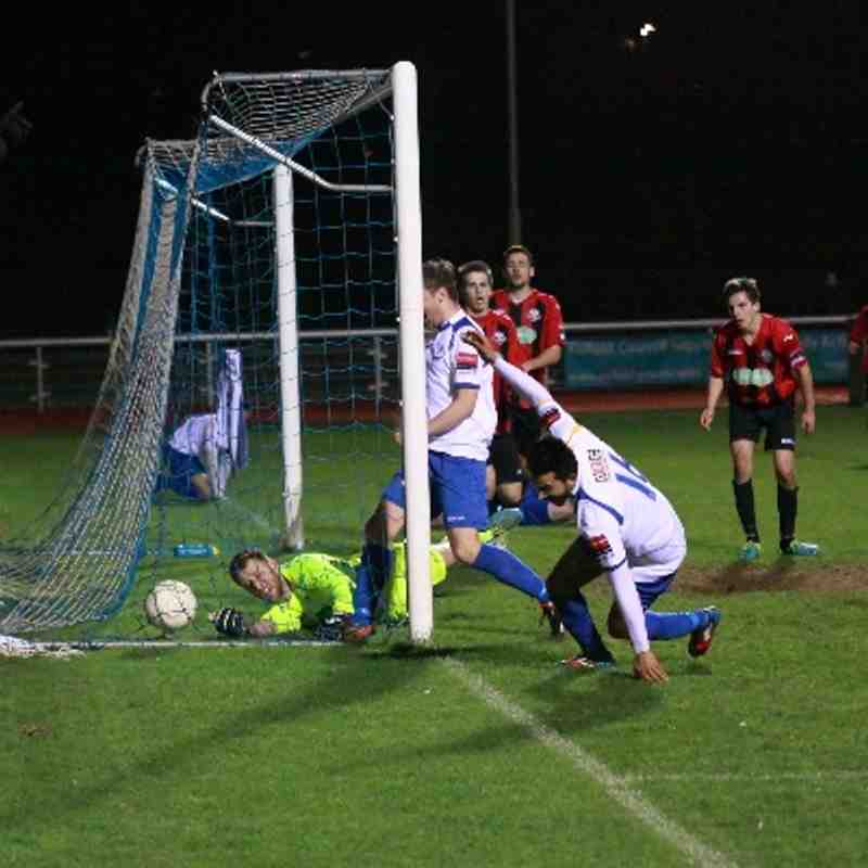 Enfield Town 2 Lewes 1 (08.04.2014)