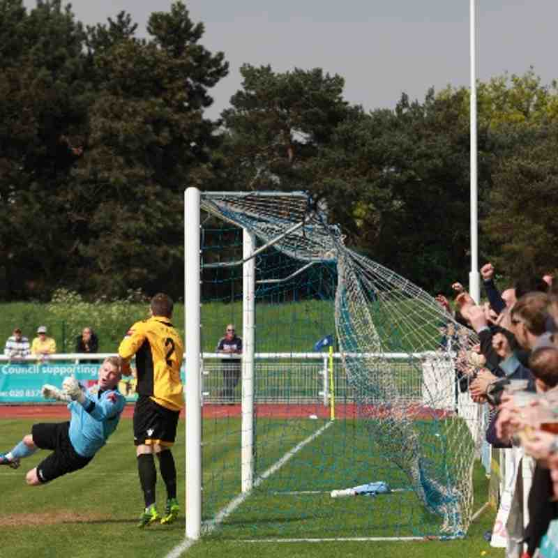 Enfield Town 3 East Thurrock United 5 (21.04.2014)