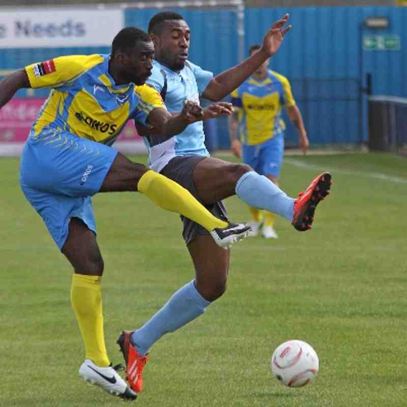 Canvey Island 2 Enfield Town 1 (23.08.2014)