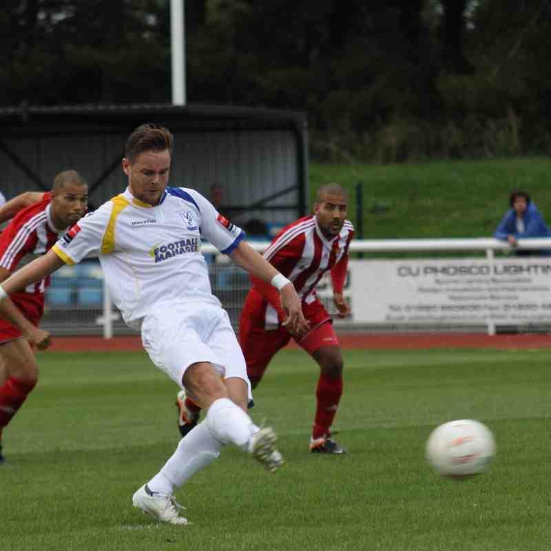 Enfield Town 5 Felixstowe & Walton United 0 (13.09.2014)