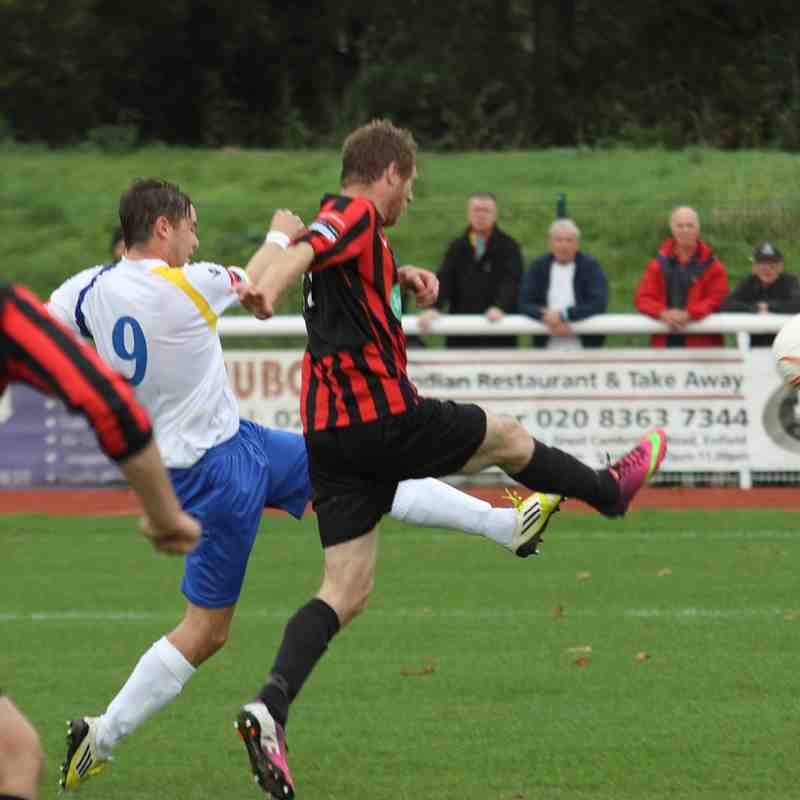 Enfield Town 3 Lewes 0 (18.10.2014)