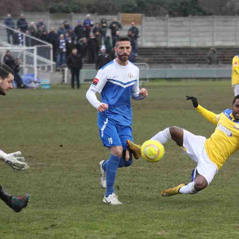 Grays Athletic 3 Enfield Town 1 (07.02.2015)