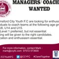 Managers / Coaches Wanted!