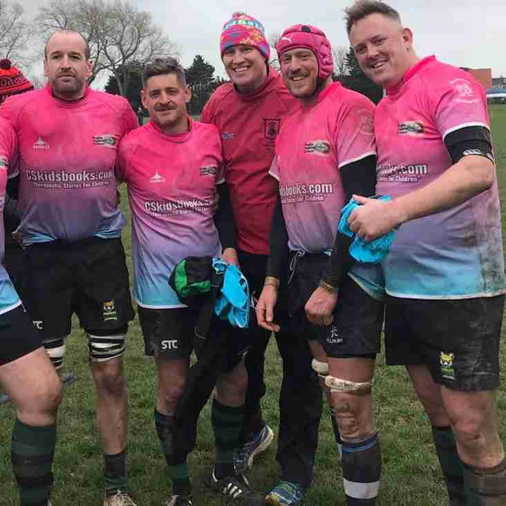 Pumas playing for Hants Vets