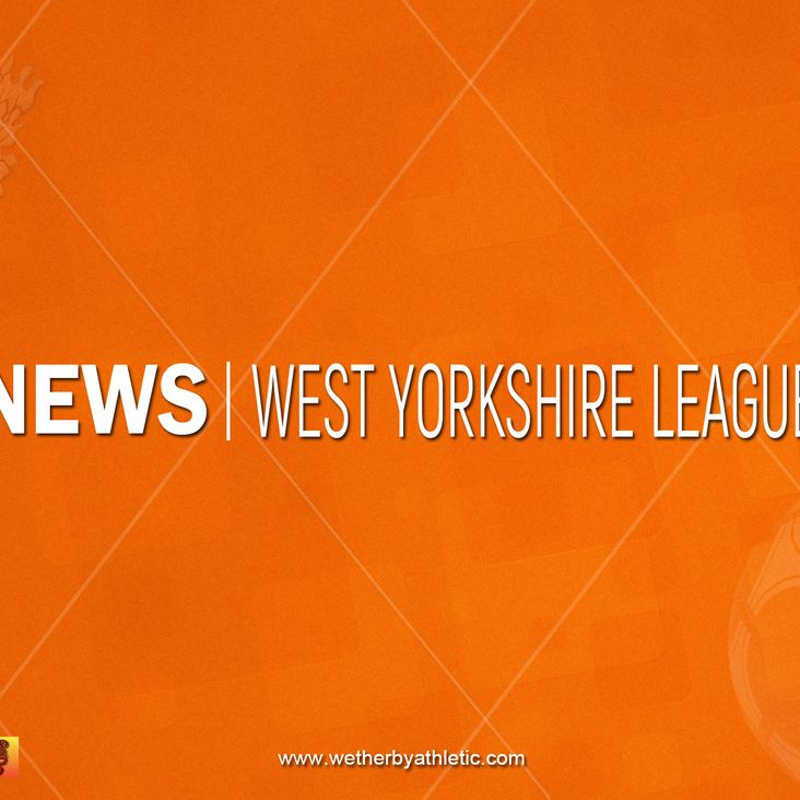 NEWS: West Yorkshire Association Cup Drawn<