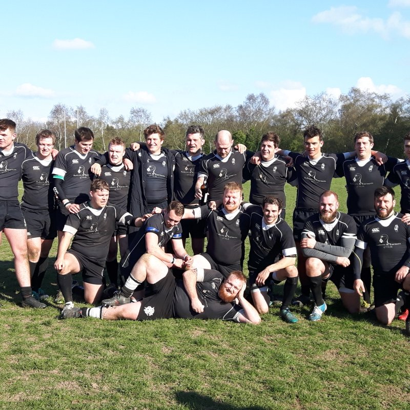 Holt RFC win the Eastern Counties Club of the Year Award
