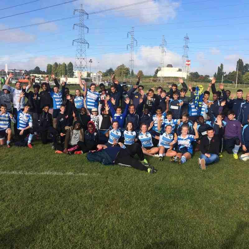 WRFC U18 Girls / U16 / U15 / U14 AAS Sarcelles Rugby 2016 France Tour