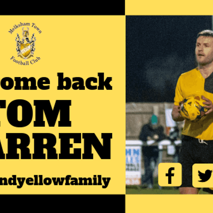 Welcome back Tom Warren!